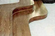 CUSTOM CURVED STEPS for HARDWOOD FLOORS - Seattle