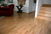 Hardwood Flooring on Stairs 2 - Seattle