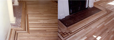 OAK HARDWOOD FLOORS AND STEPS - Seattle
