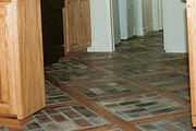 COMPOSITIONS OF BRICKS AND RED OAK for HARDWOOD FLOORS - Seattle