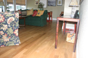 White Oak Hardwood Flooring and Steps 3 - Seattle