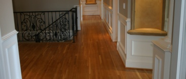 Hallway and Stairs Hardwood Flooring