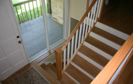 White Oak Hardwood Flooring and Steps 5 - Seattle